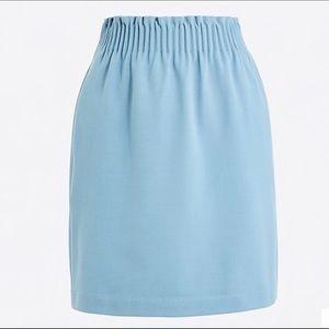 J. Crew sidewalk skirt NWT light blue sz 6